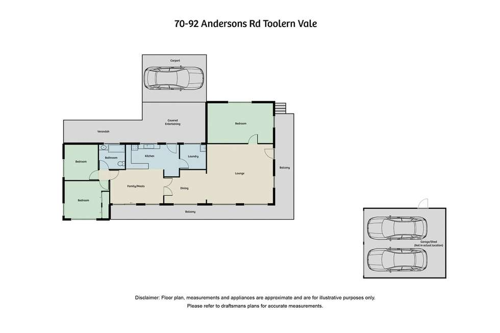 Floorplan of Homely house listing, 70-92 Andersons Road, Toolern Vale VIC 3337