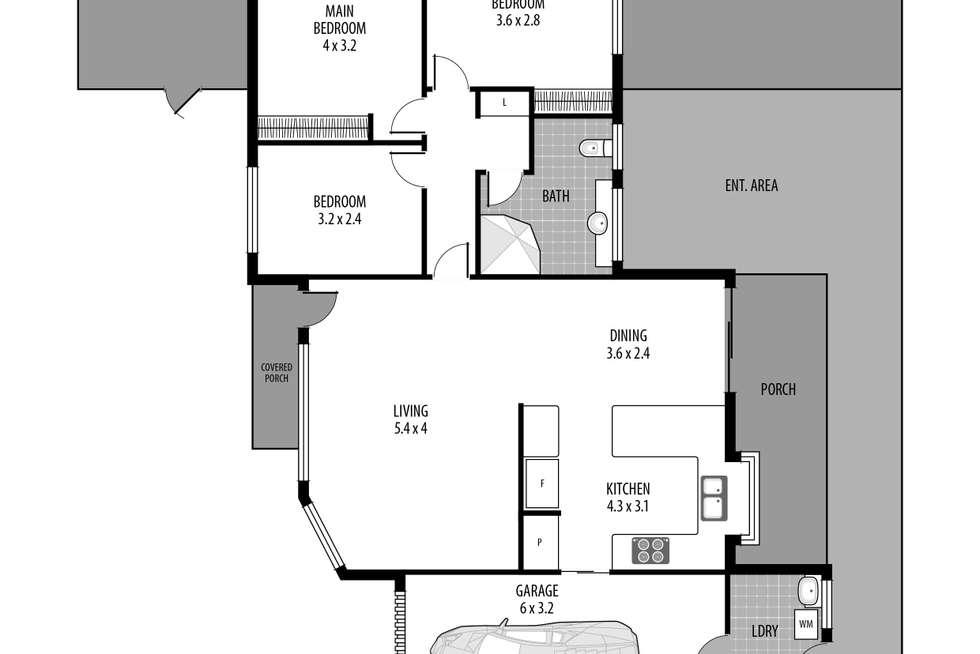 Floorplan of Homely villa listing, 3/31 Allfield Road, Woy Woy NSW 2256