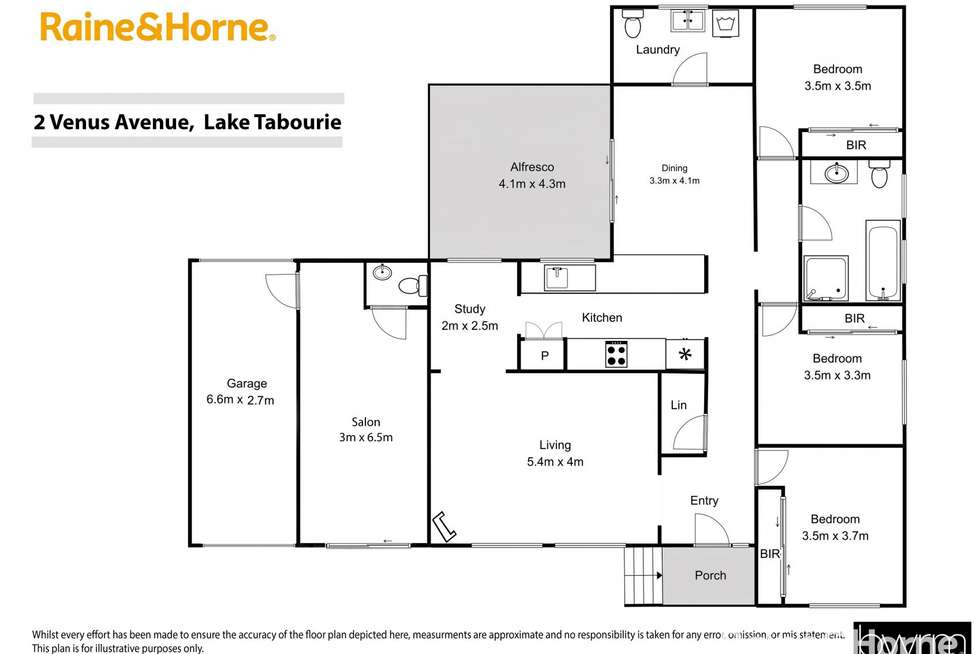 Floorplan of Homely house listing, 2 Venus Avenue, Lake Tabourie NSW 2539