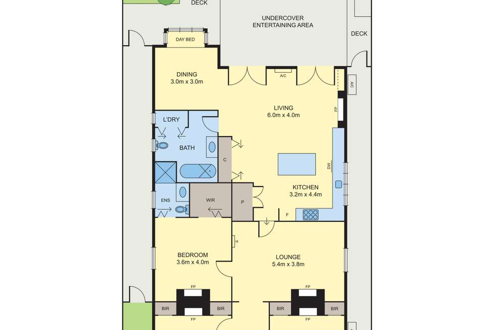 Floorplan of Homely house listing, 48 Davies Street, Newport VIC 3015