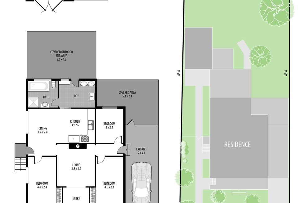 Floorplan of Homely house listing, 1 Boongala Avenue, Empire Bay NSW 2257