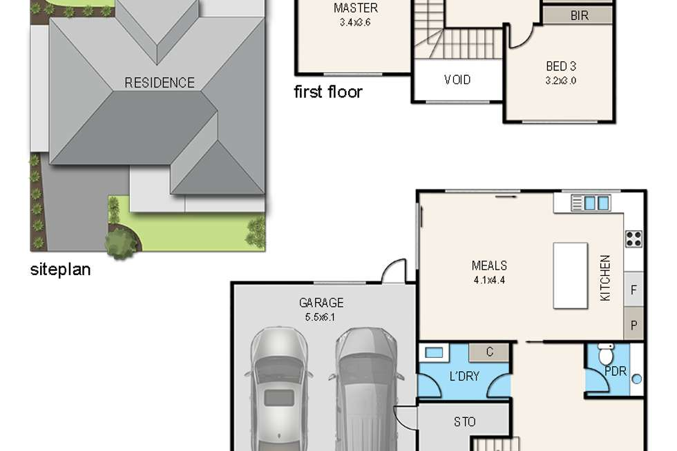 Floorplan of Homely house listing, 5 Argyle Street, Frankston VIC 3199