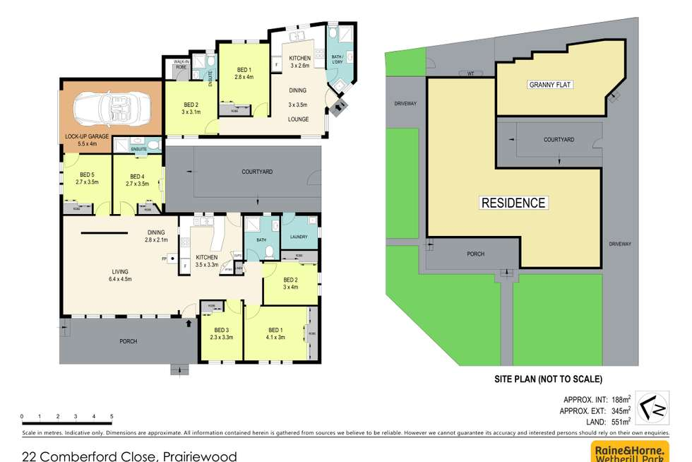 Floorplan of Homely house listing, 22 Comberford Close, Prairiewood NSW 2176