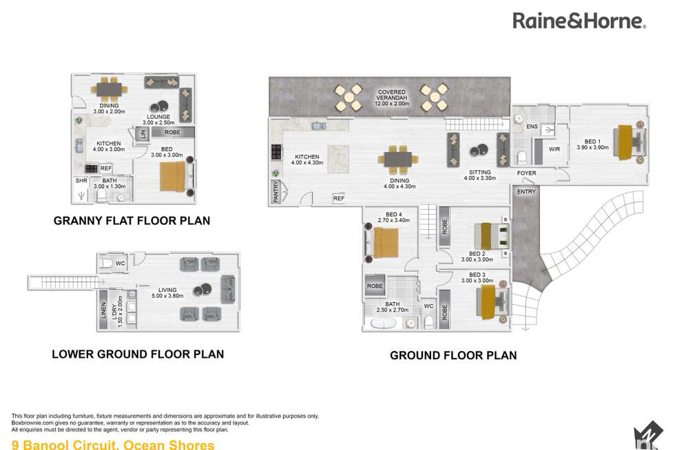 Floorplan of Homely house listing, 9 Banool Circuit, Ocean Shores NSW 2483