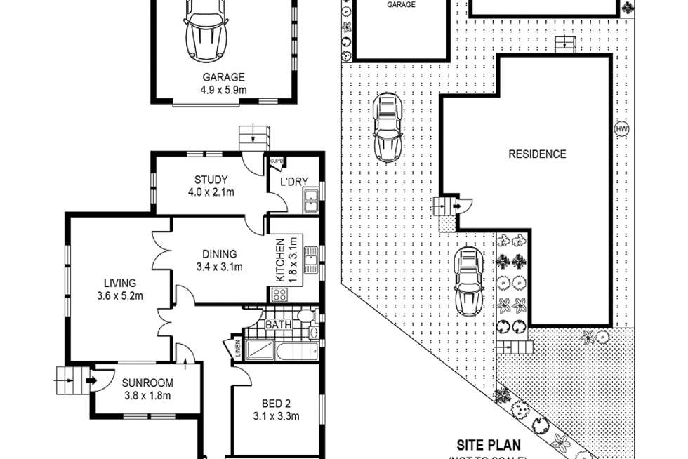 Floorplan of Homely house listing, 121a Stoney Creek Road, Bexley NSW 2207