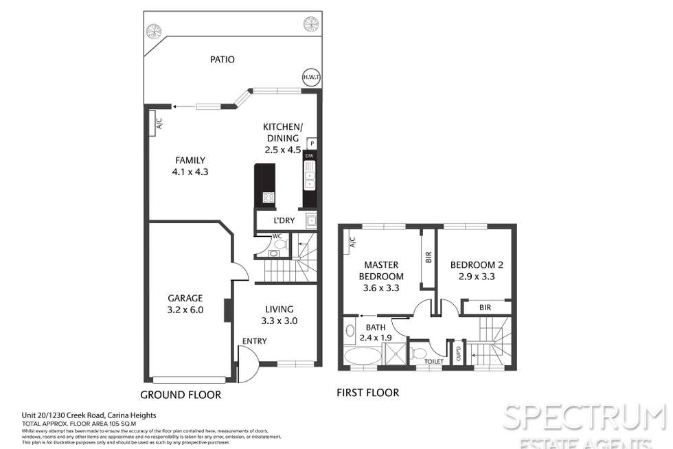 Floorplan of Homely unit listing, 20/1230 Creek Road, Carina Heights QLD 4152
