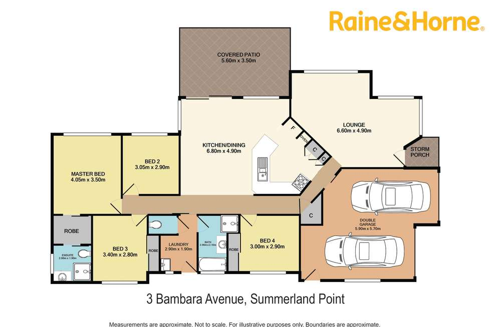 Floorplan of Homely house listing, 3 Bambara Avenue, Summerland Point NSW 2259