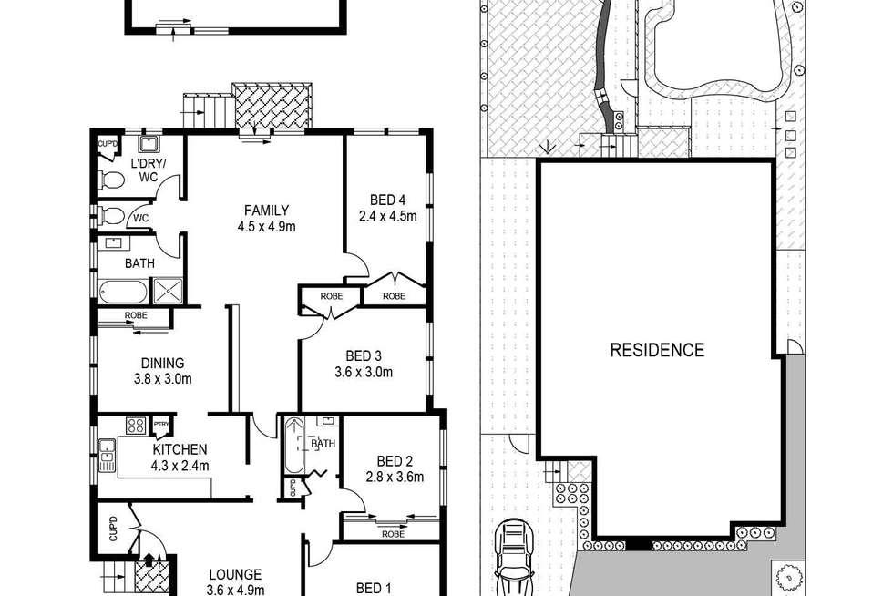 Floorplan of Homely house listing, 12 John Street, Bexley NSW 2207