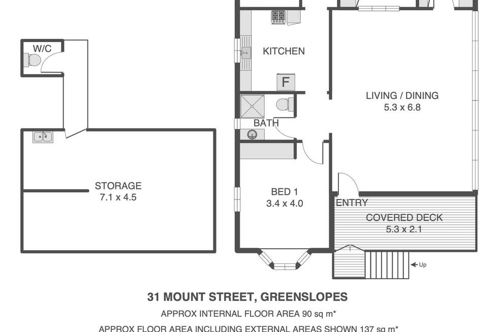 Floorplan of Homely house listing, 31 Mount Street, Greenslopes QLD 4120