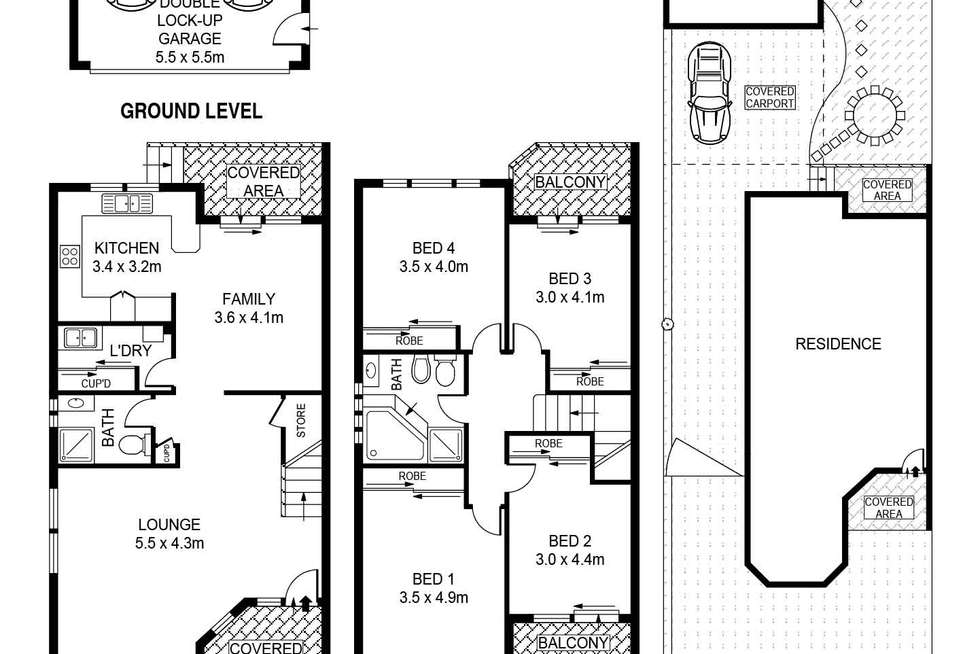 Floorplan of Homely house listing, 23 Bayview Street, Bexley NSW 2207