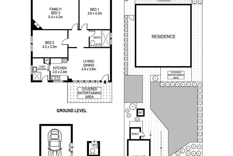 Floorplan of Homely house listing, 41 Highworth Avenue, Bexley NSW 2207