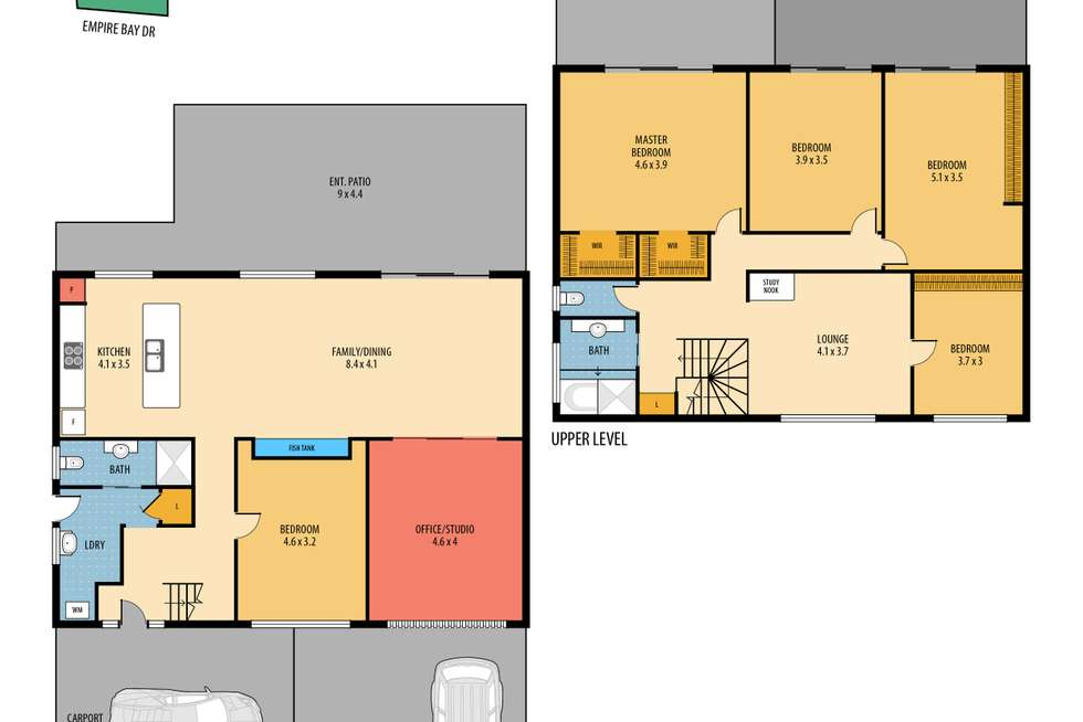 Floorplan of Homely house listing, 179 Empire Bay Drive, Empire Bay NSW 2257