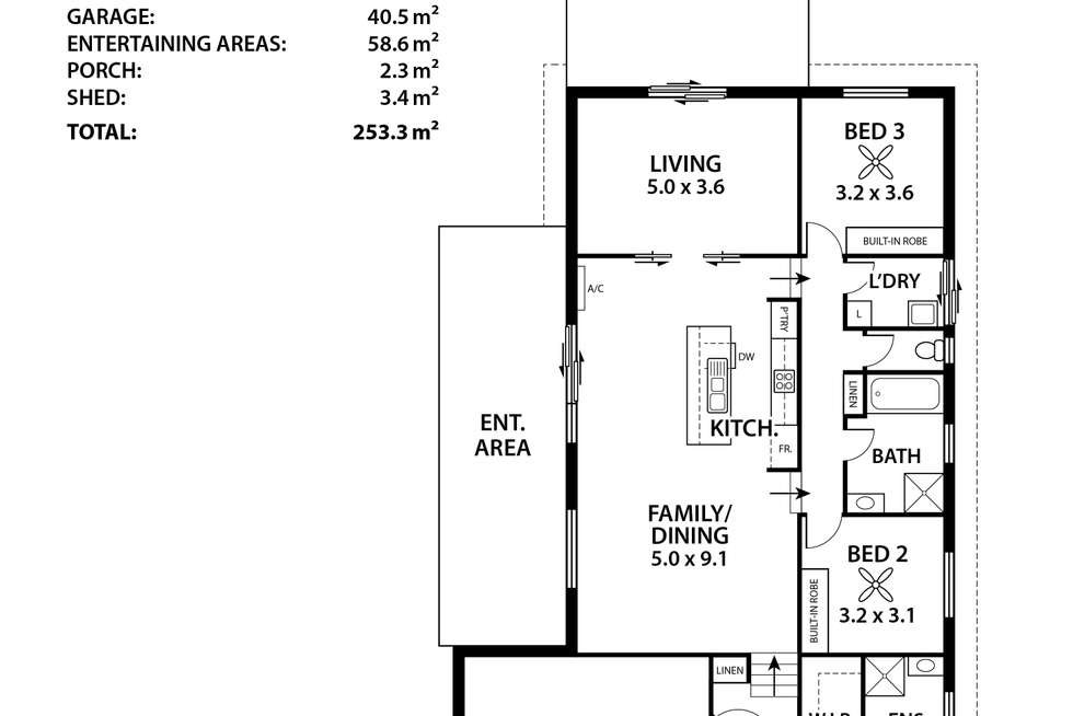 Floorplan of Homely house listing, 56 Megan Circuit, Nairne SA 5252