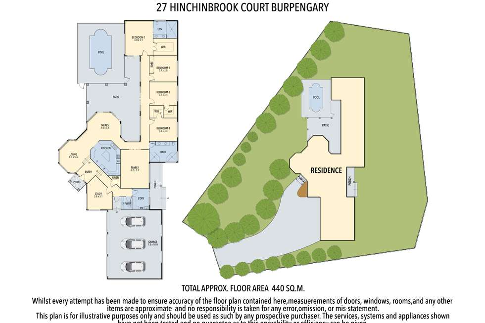 Floorplan of Homely house listing, 27 Hinchinbrook Court, Burpengary QLD 4505