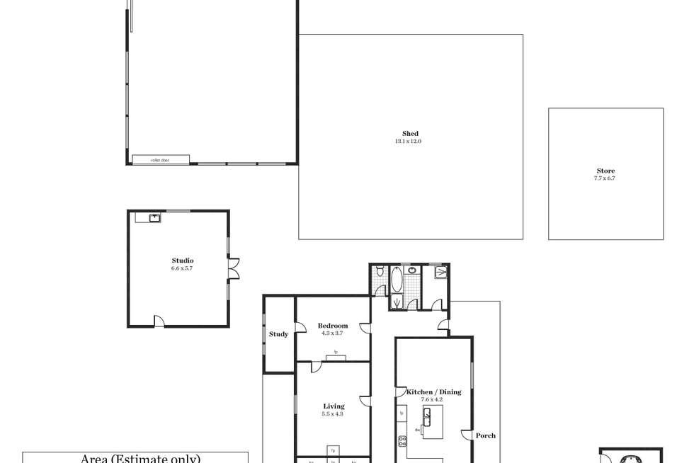 Floorplan of Homely house listing, 1340 Long Valley Road, Strathalbyn SA 5255