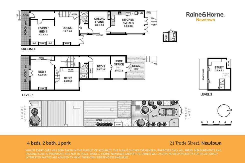 Floorplan of Homely house listing, 21 Trade Street, Newtown NSW 2042