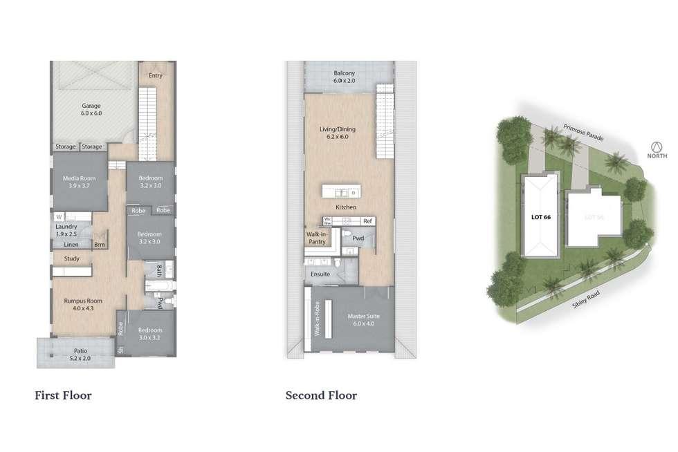 Floorplan of Homely house listing, 6 Primrose Parade, Wynnum QLD 4178