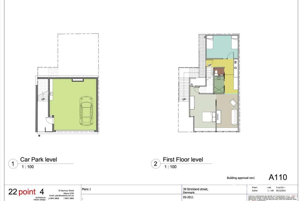 Floorplan of Homely house listing, 10/39 Strickland Street, Denmark WA 6333