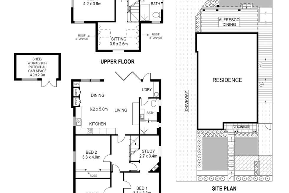 Floorplan of Homely house listing, 2 Milsop Street, Bexley NSW 2207
