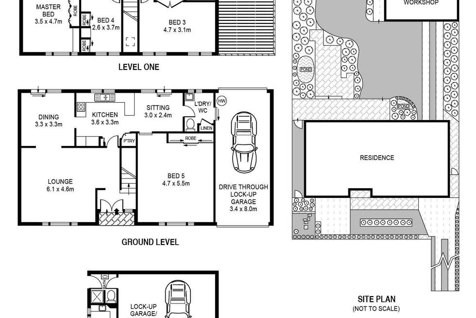 Floorplan of Homely house listing, 83a Harrow Road, Bexley NSW 2207