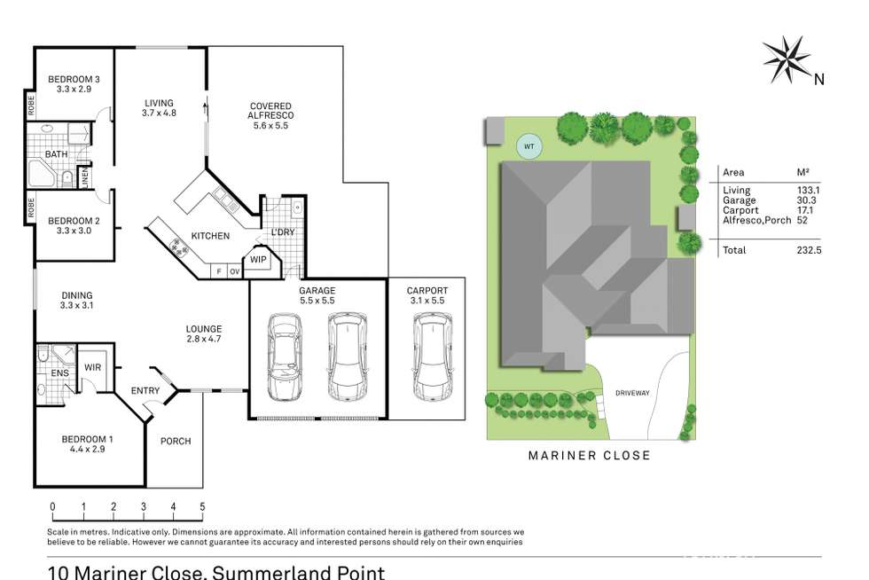 Floorplan of Homely house listing, 10 Mariner Close, Summerland Point NSW 2259