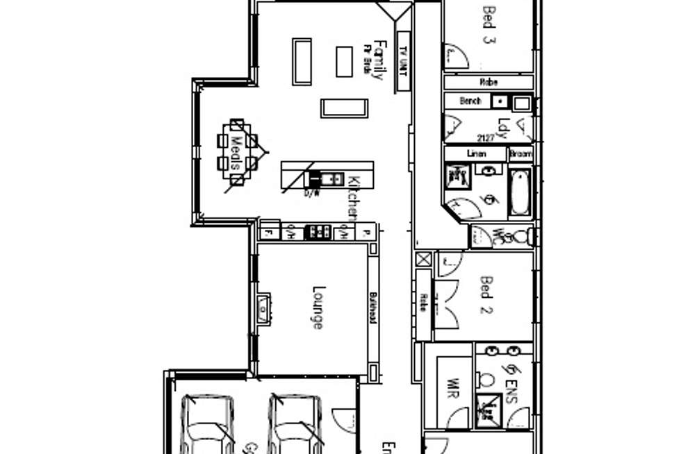 Floorplan of Homely house listing, 3 Rokewood Street, Burnside Heights VIC 3023