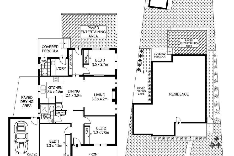 Floorplan of Homely house listing, 5 Bungalow Road, Roselands NSW 2196