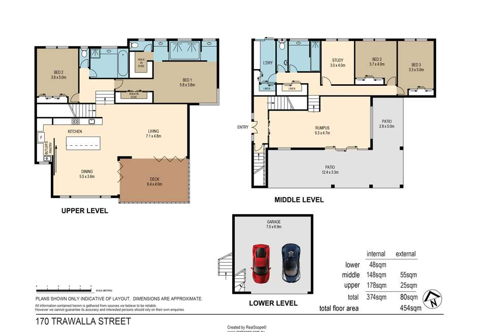 Floorplan of Homely house listing, 170 Trawalla Street, The Gap QLD 4061