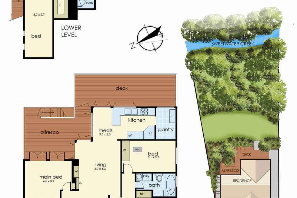 Floorplan of Homely house listing, 21 Plummer Avenue, Frankston South VIC 3199