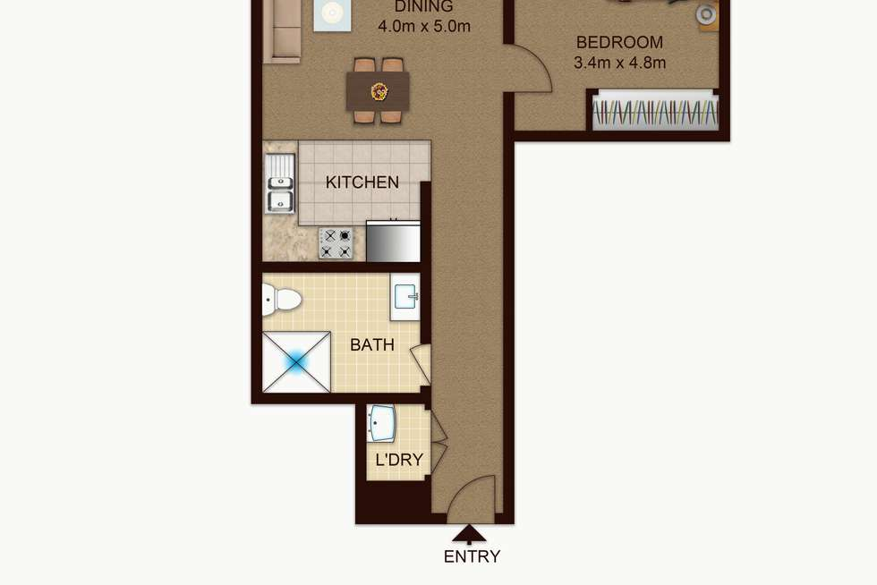 Floorplan of Homely apartment listing, 10/75 Great Western Highway, Parramatta NSW 2150