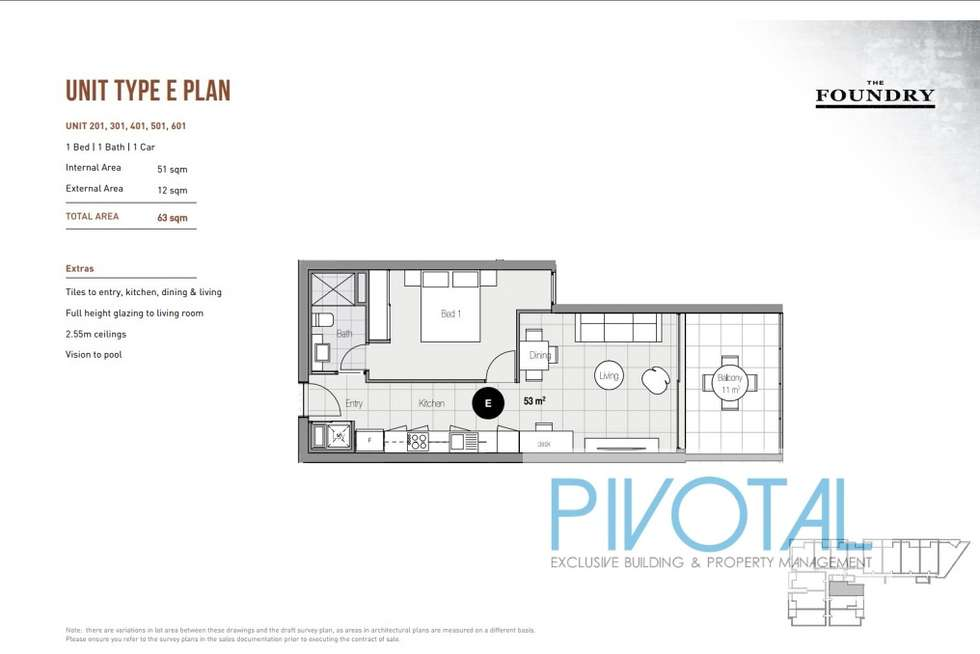 Floorplan of Homely apartment listing, 3021/8 Holden Street, Woolloongabba QLD 4102