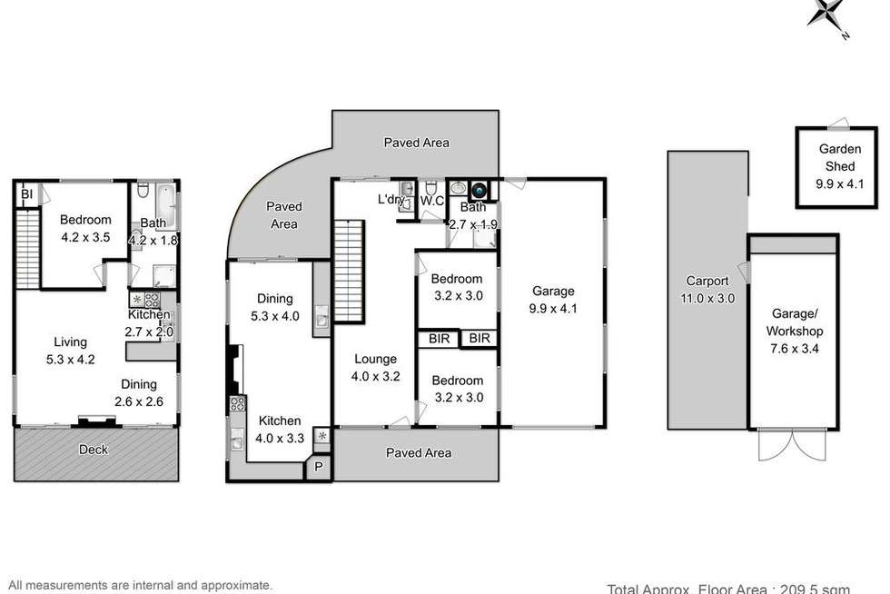 Floorplan of Homely house listing, 180 Safety Cove Road, Port Arthur TAS 7182