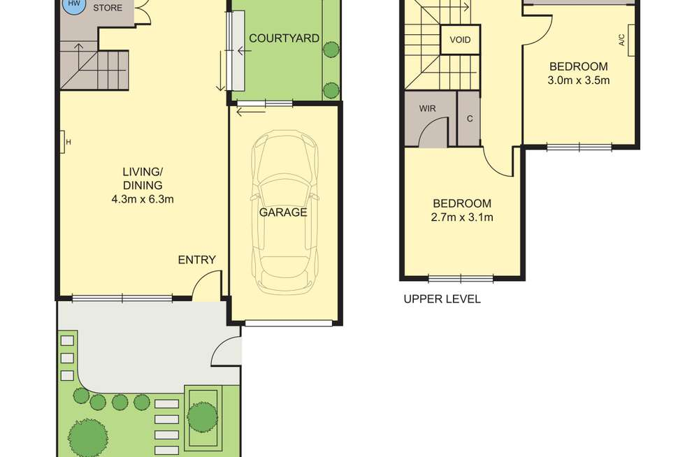 Floorplan of Homely townhouse listing, 37/87-115 Nelson Place, Williamstown VIC 3016