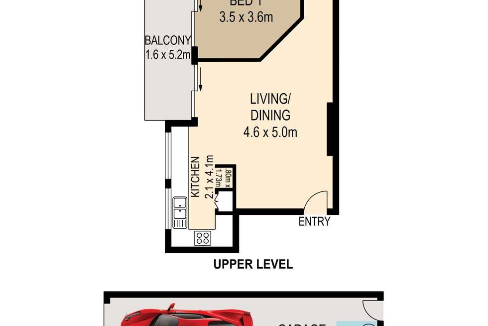 Floorplan of Homely unit listing, 3/17 Kingsford Street, Auchenflower QLD 4066