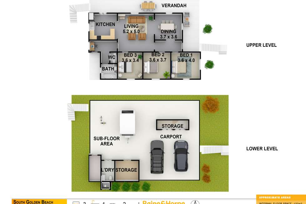 Floorplan of Homely house listing, 24 Redgate Road, South Golden Beach NSW 2483