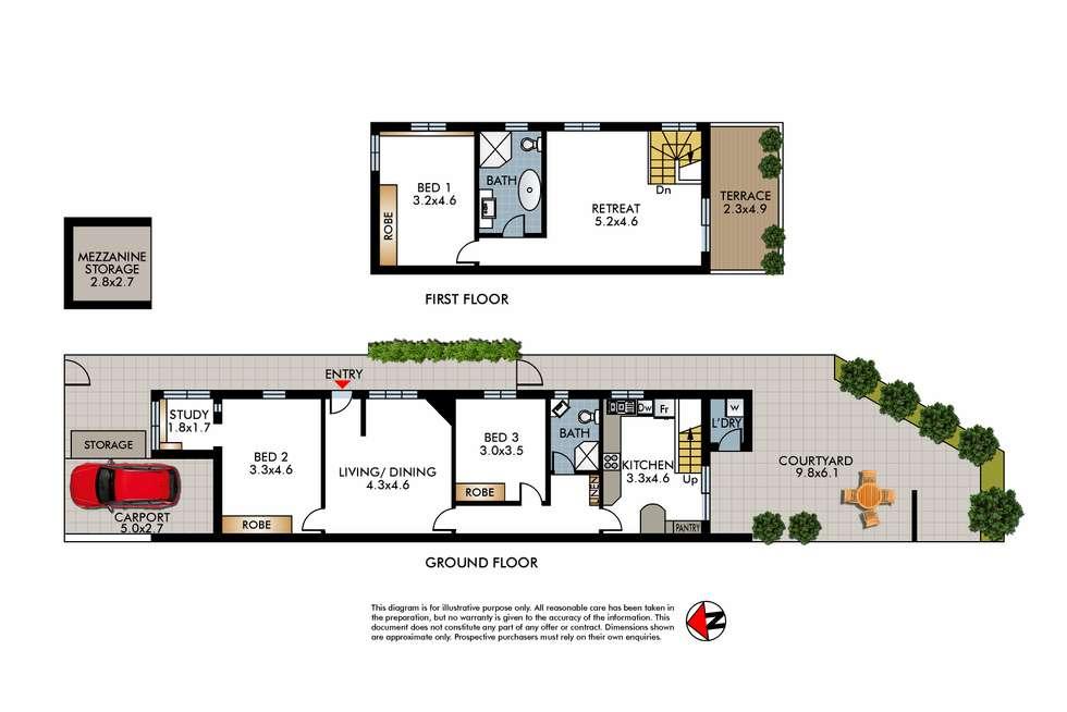 Floorplan of Homely house listing, 32 Plowman Street, North Bondi NSW 2026