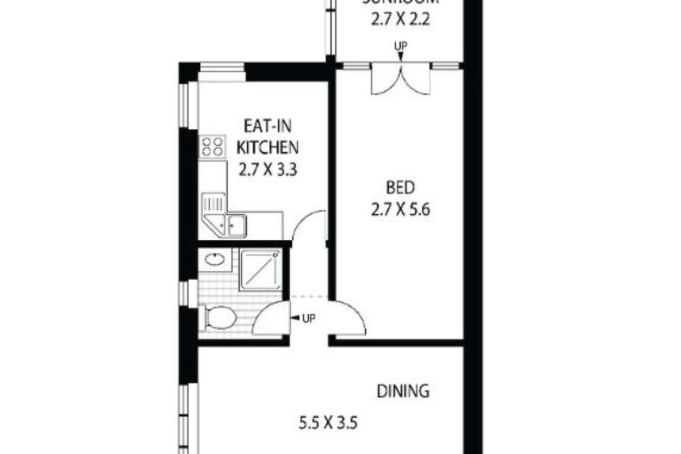Floorplan of Homely apartment listing, 9/179 High Street, North Sydney NSW 2060