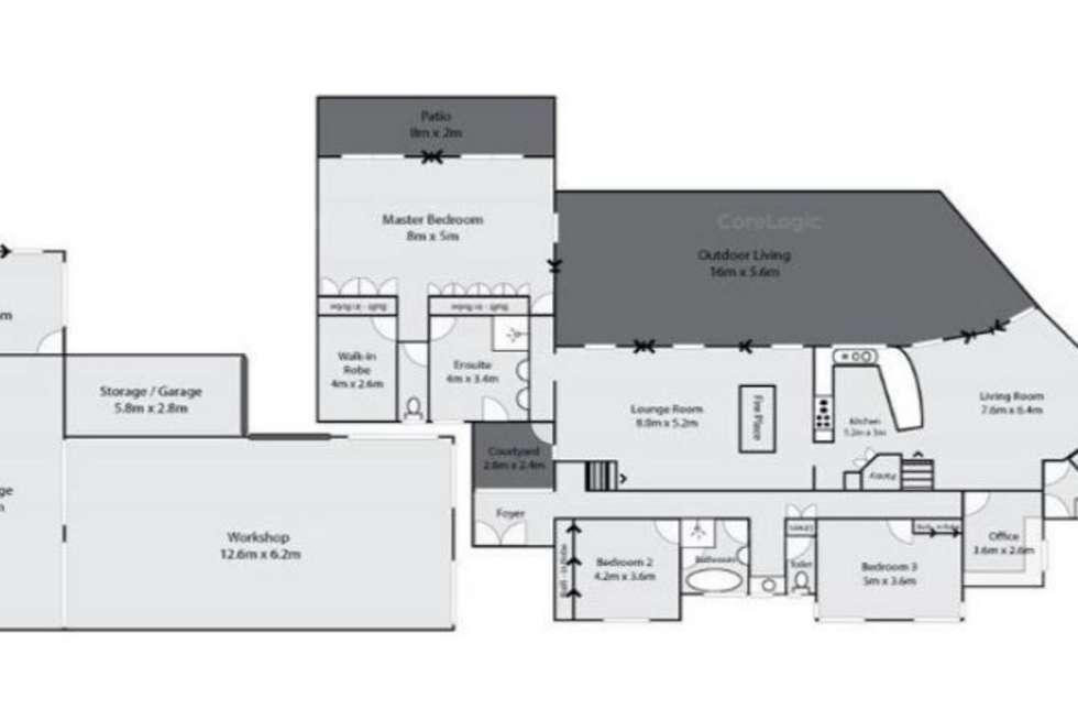Floorplan of Homely house listing, 8 Hewett Ct, Bannockburn QLD 4207