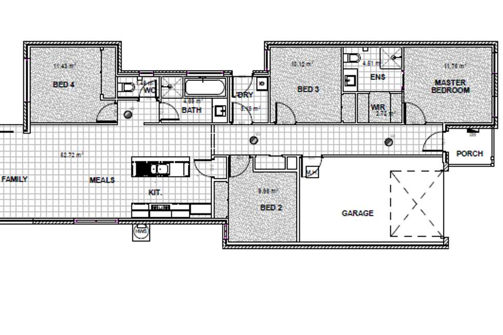 Floorplan of Homely house listing, 8 Diplomat Crescent, Cranbourne South VIC 3977