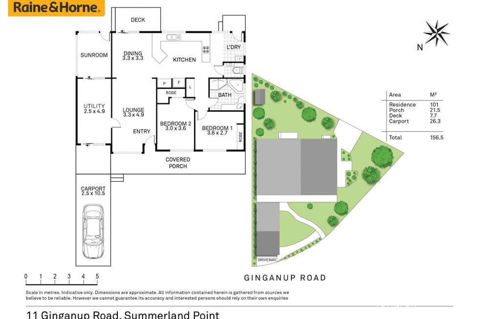 Floorplan of Homely house listing, 11 Ginganup Road, Summerland Point NSW 2259
