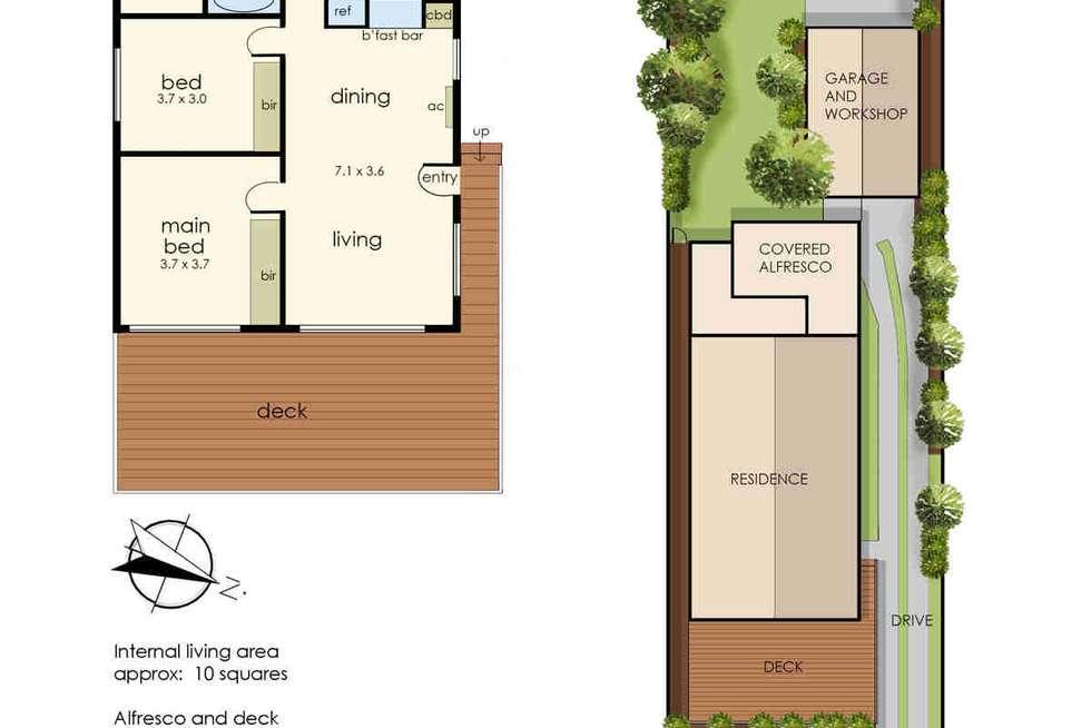 Floorplan of Homely house listing, 14 Banks Street, Warneet VIC 3980