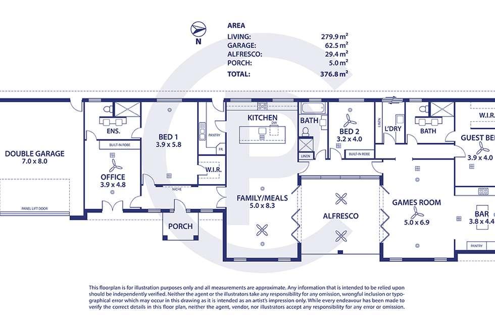 Floorplan of Homely house listing, 28 Tilly Street, Mount Barker SA 5251