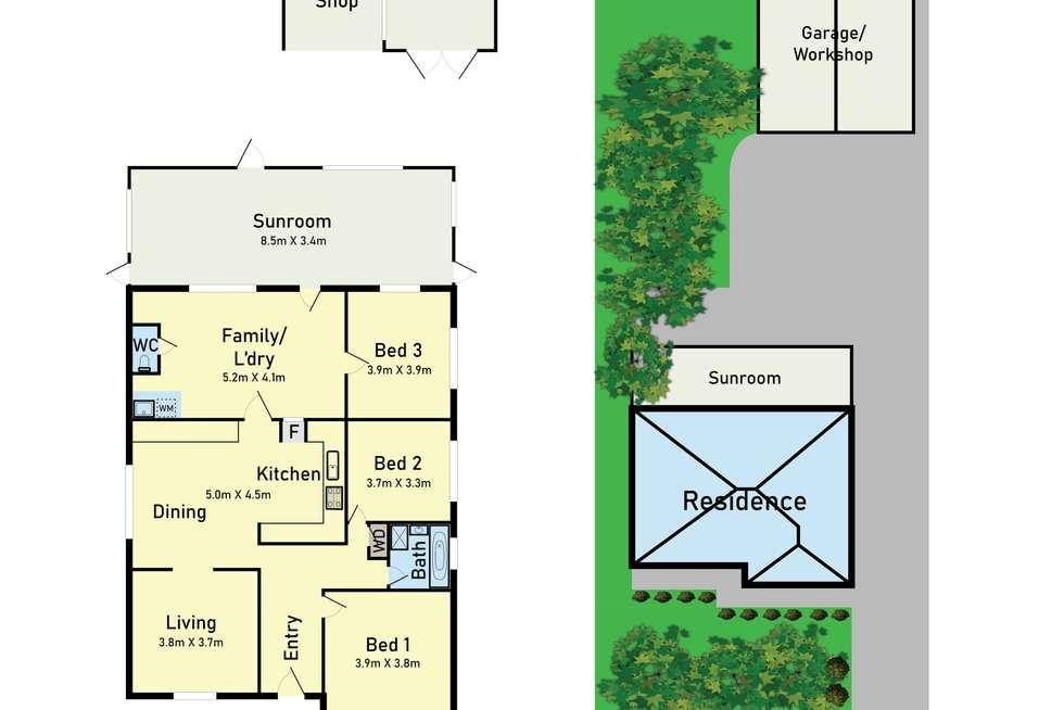 Floorplan of Homely house listing, 167 Rathcown Road, Reservoir VIC 3073