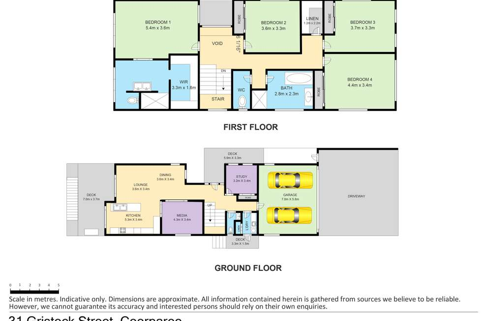 Floorplan of Homely house listing, 31 Gristock Street, Coorparoo QLD 4151