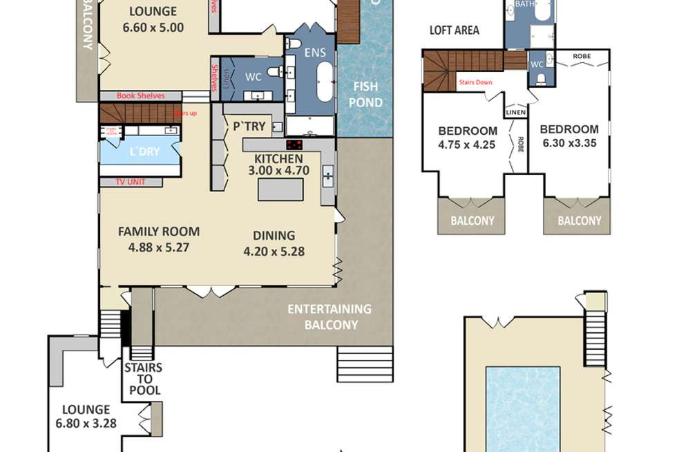 Floorplan of Homely house listing, 30 Darley Street, Katoomba NSW 2780