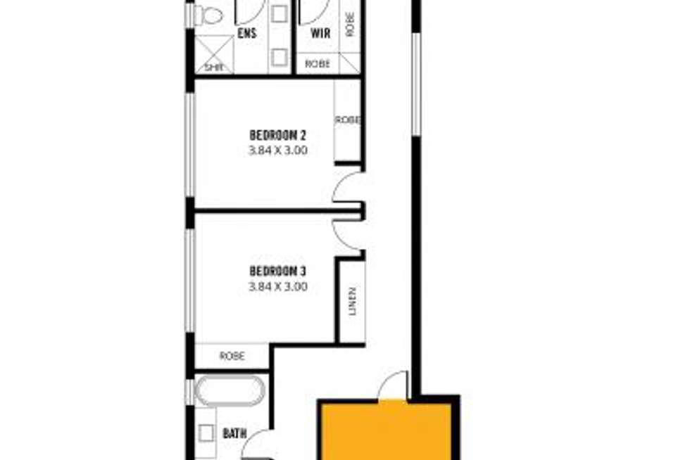Floorplan of Homely house listing, D1-D4 15-17 McCarthy Ave, Hectorville SA 5073