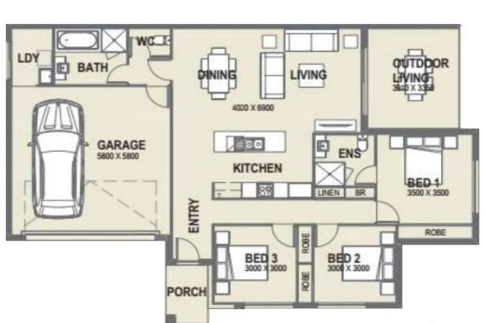 Floorplan of Homely house listing, 2/2 Smith Street, Burpengary East QLD 4505