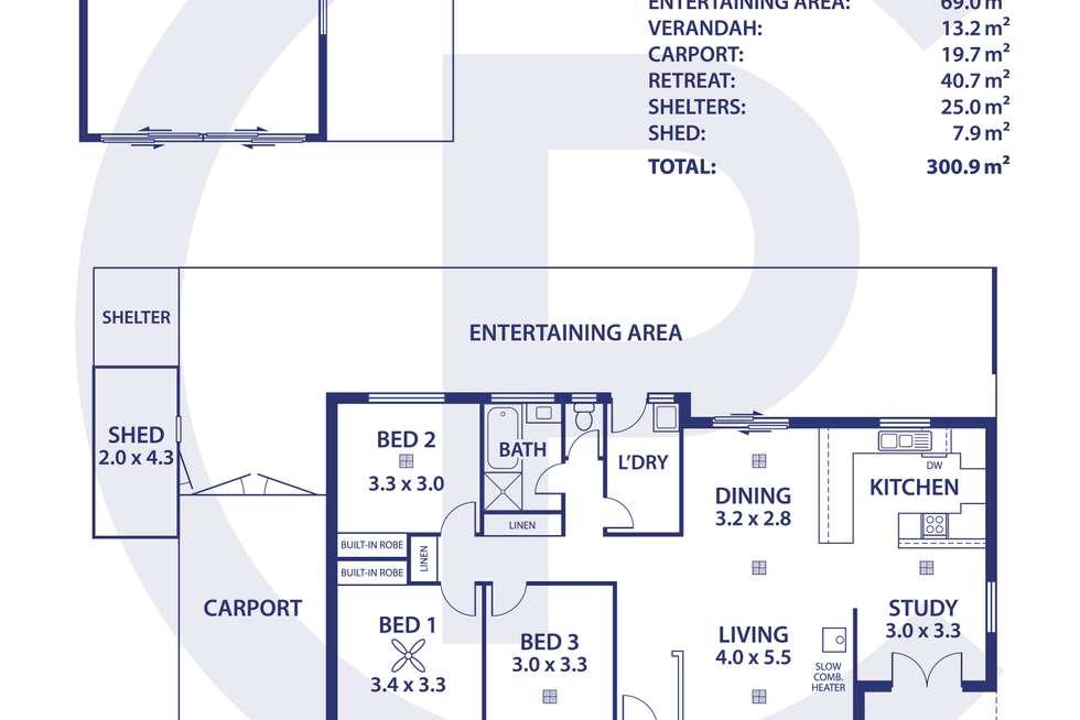 Floorplan of Homely house listing, 15 Mais Street, Nairne SA 5252