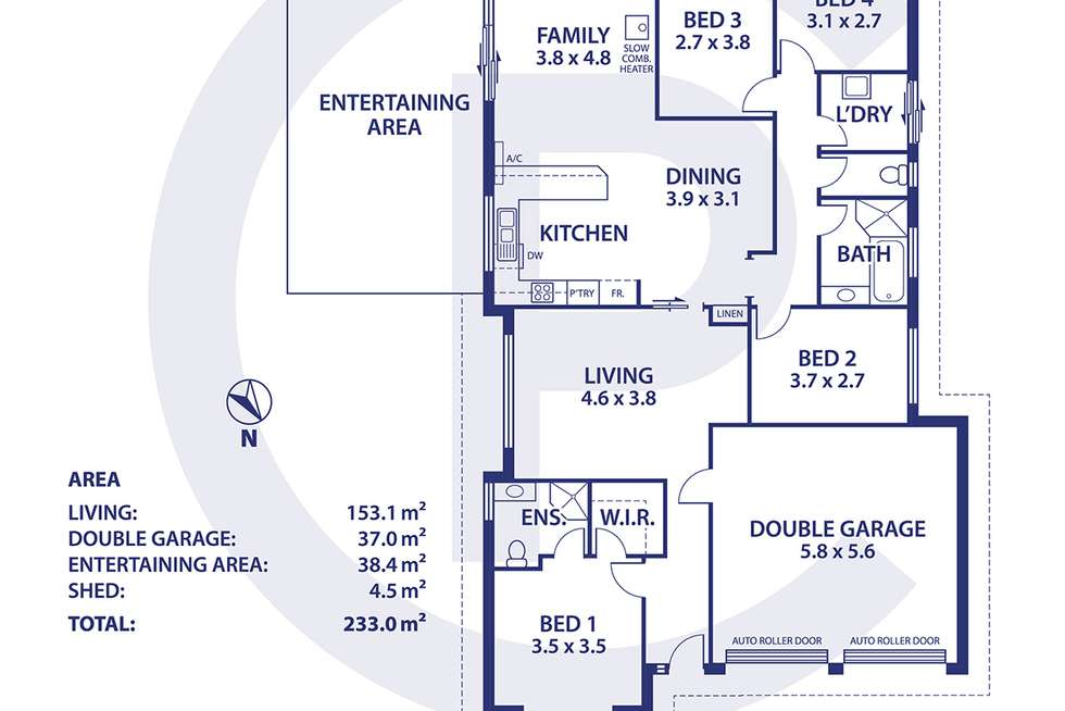 Floorplan of Homely house listing, 2 Parkview Drive, Mount Barker SA 5251