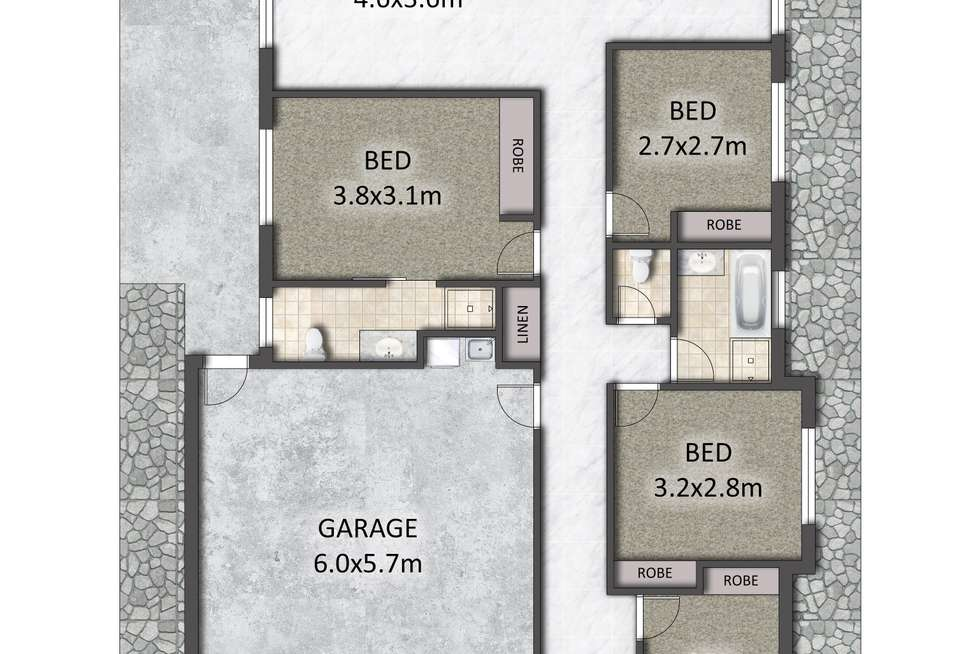 Floorplan of Homely house listing, 70 Blackwell Street, Hillcrest QLD 4118